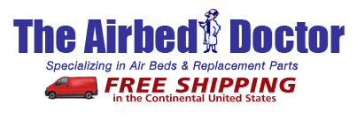 Free Shipping with The Air Bed Doctor