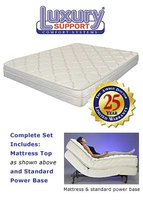 Luxury Support - Evolutions Adjustable Bed