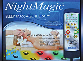 Night Magic Mattress Massage Unit